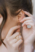 "Load image into Gallery viewer, Sarah Mulder ""Alphie"" Stud Earrings"