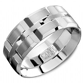 Carlex Luxury Wedding Band WB-9567W