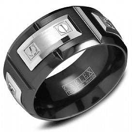 Carlex Luxury Wedding Band WB-9850WB