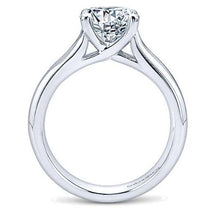 Load image into Gallery viewer, Gabriel Round Diamond Engagement Ring 9428w4