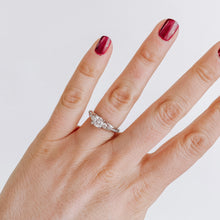 Load image into Gallery viewer, Tacori Three Stone Engagement Ring