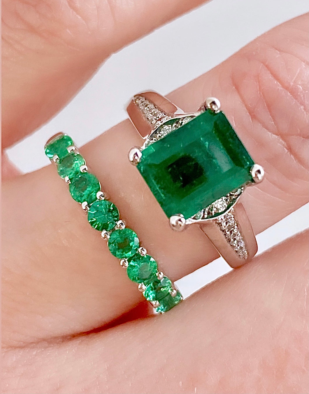 Roset Emerald Ring