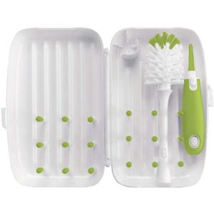 OXO Tot On The Go Drying Rack With Bottle Brush - lisa rankin
