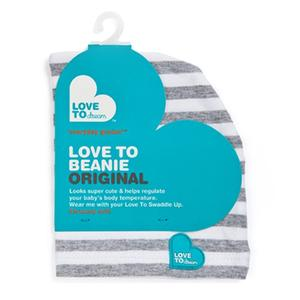 Love to Swaddle Up Beanie Gray - lisa rankin