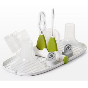 OXO Tot Breast Pump Parts Drying Rack with Detail Brushes - lisa rankin