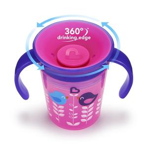 Munchkin Miracle 360 Deco Trainer Cup, Assorted Colors - lisa rankin