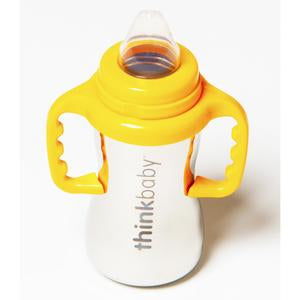 Thinkbaby Sippy of Steel 9oz Sippy Cup - Silver - lisa rankin