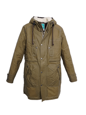 K1001 ZEPHYR mens padded wax parka