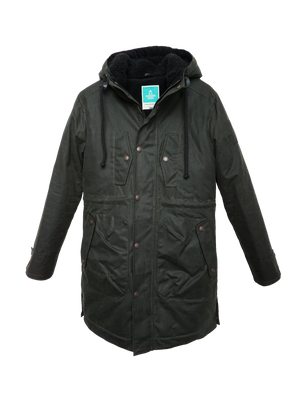 Open picture in slideshow, K1003 ZEPHYR Mens padded wax parka