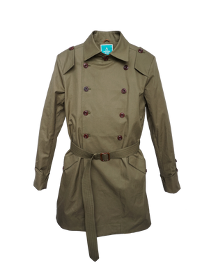 Open picture in slideshow, K3104 JUPITER GOTS Mens organic cotton trench