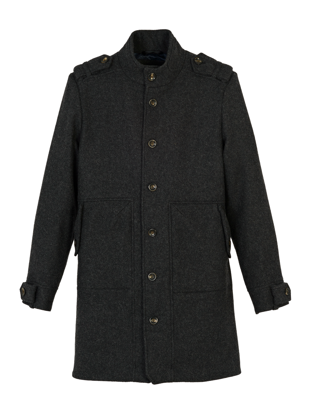 Mens woolcoat K401 ARES