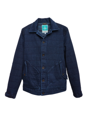 Bild in Slideshow öffnen, K5005 POLLUX Sakiori Denim Jacket