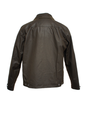 K6201 POLLUX WAX Mens Waxed Cotton Rider Jacket