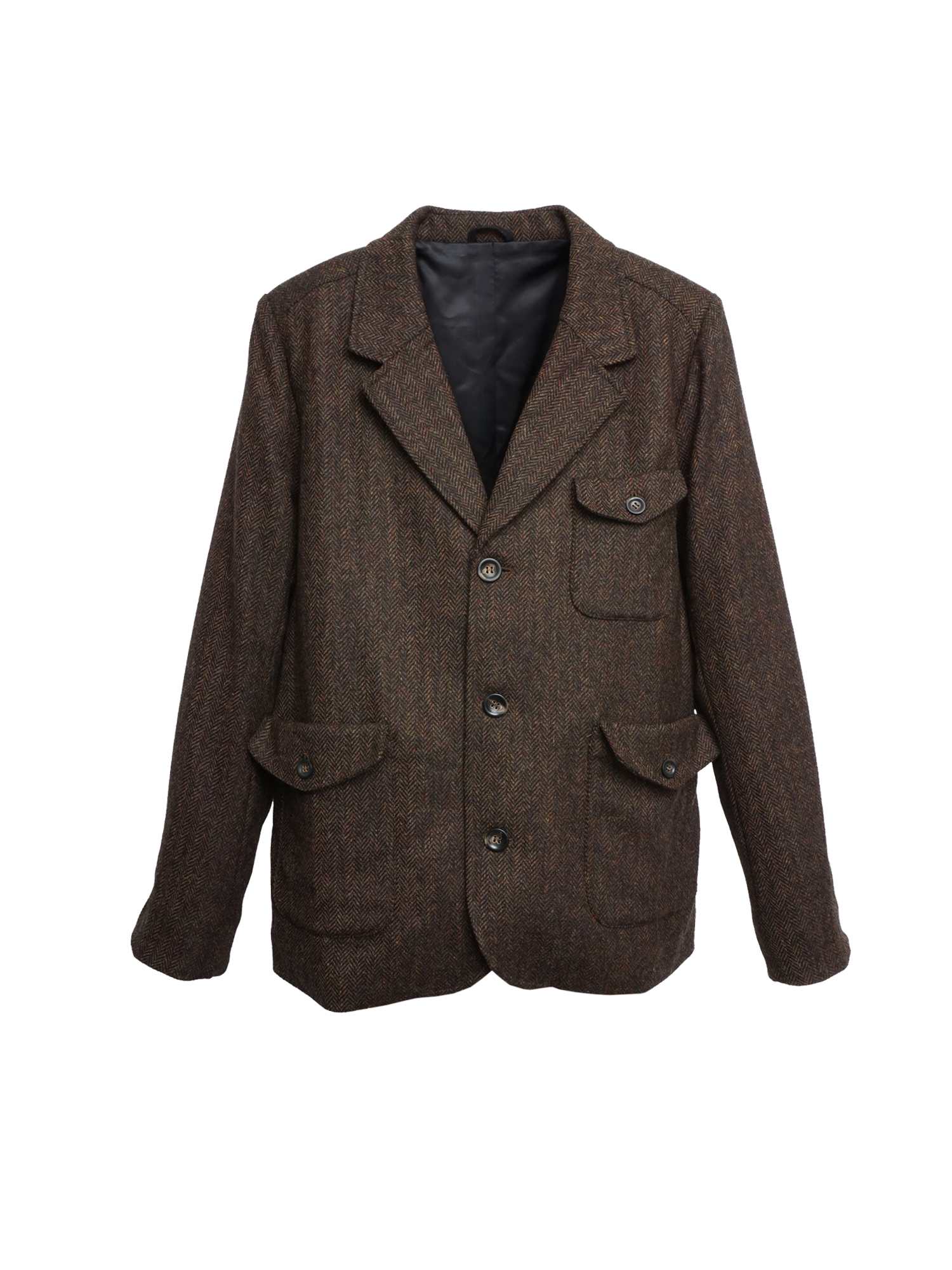 K7104 SATURN Mens Tweed Blazer