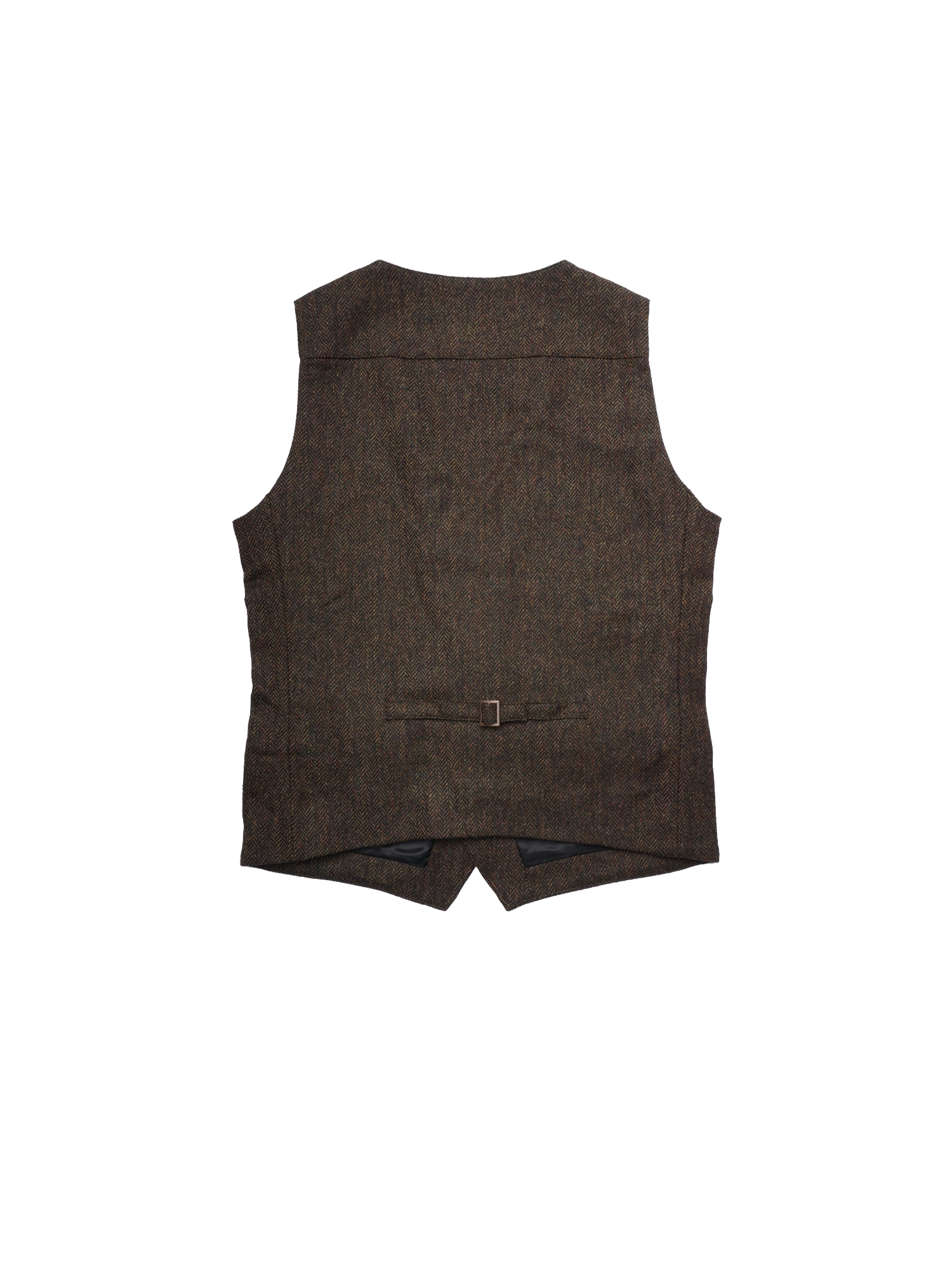 PLUTO Mens Tweed Gillet