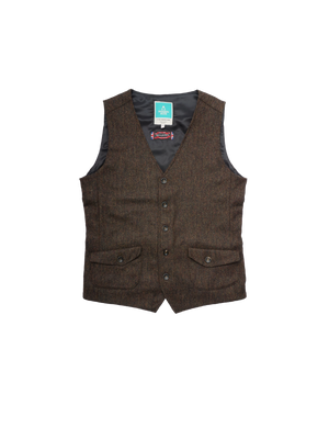 Bild in Slideshow öffnen, PLUTO Mens Tweed Gillet