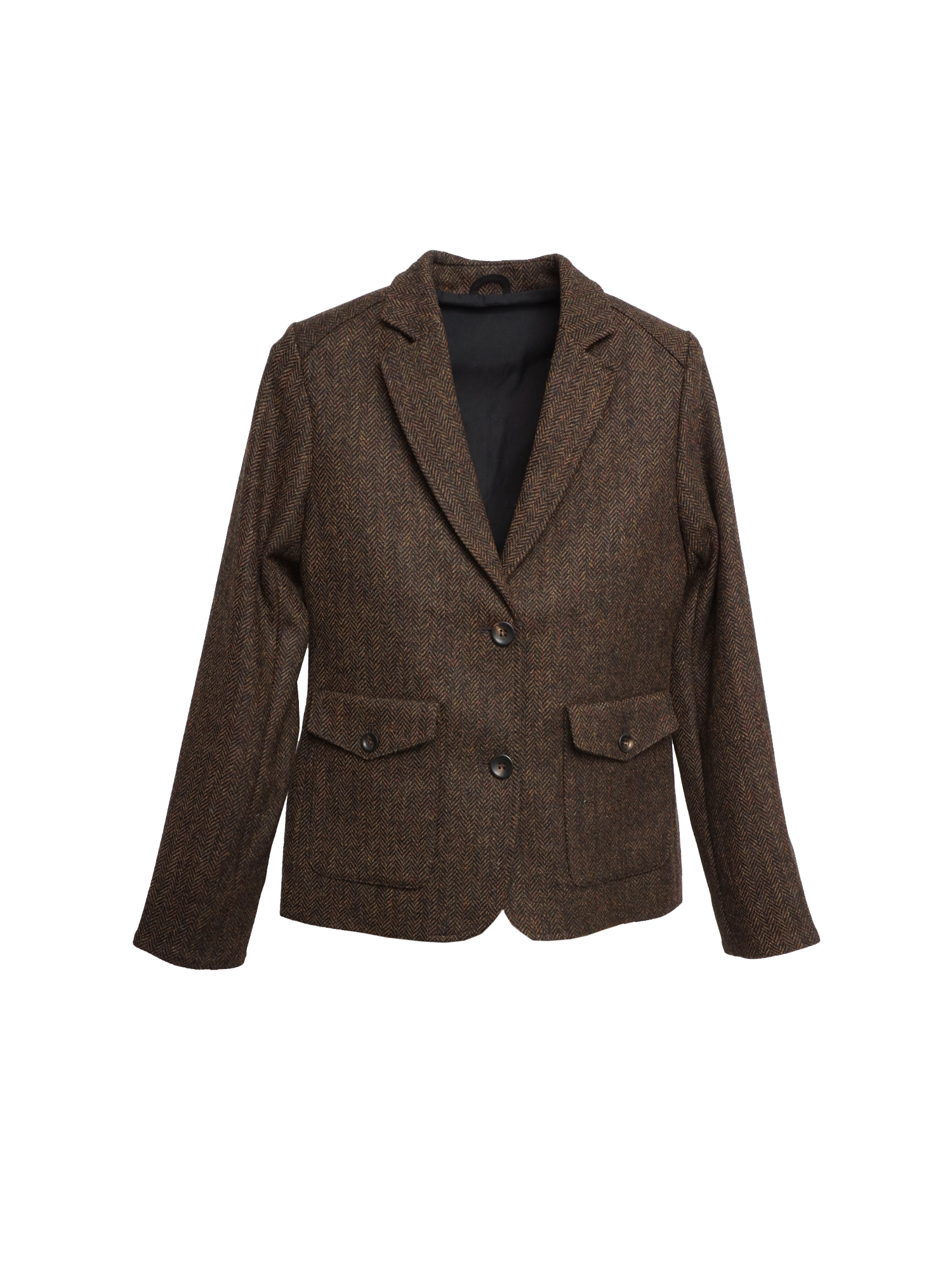 Q7101 HELENA Womens Tweed Blazer