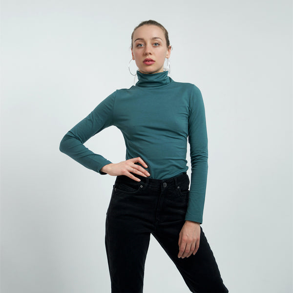 Turtleneck women rainforest