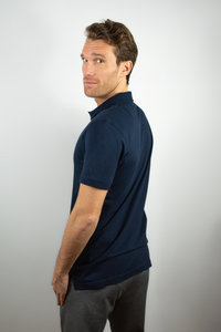 Polo men dark navy