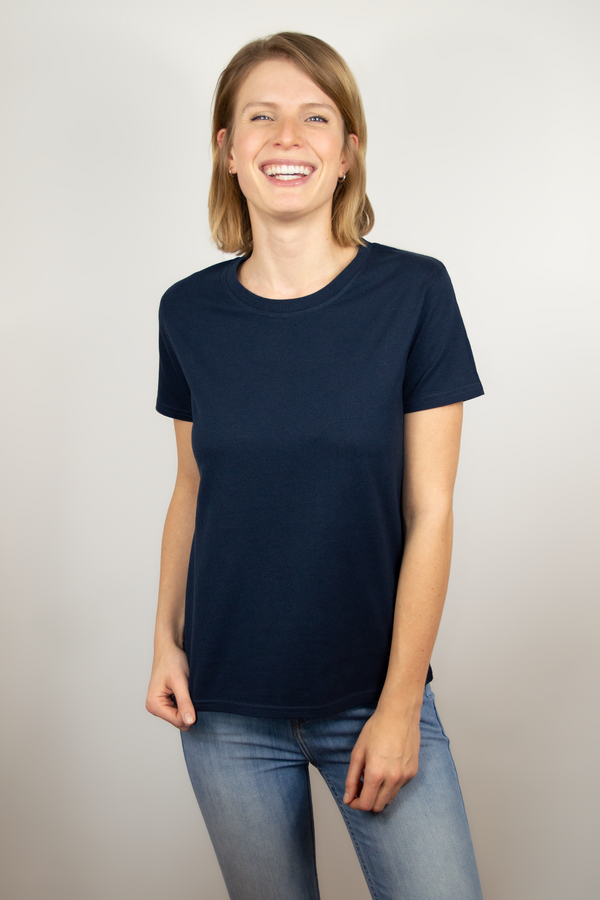 T-shirt women navy