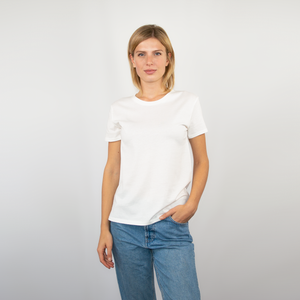 T-shirt women off-white