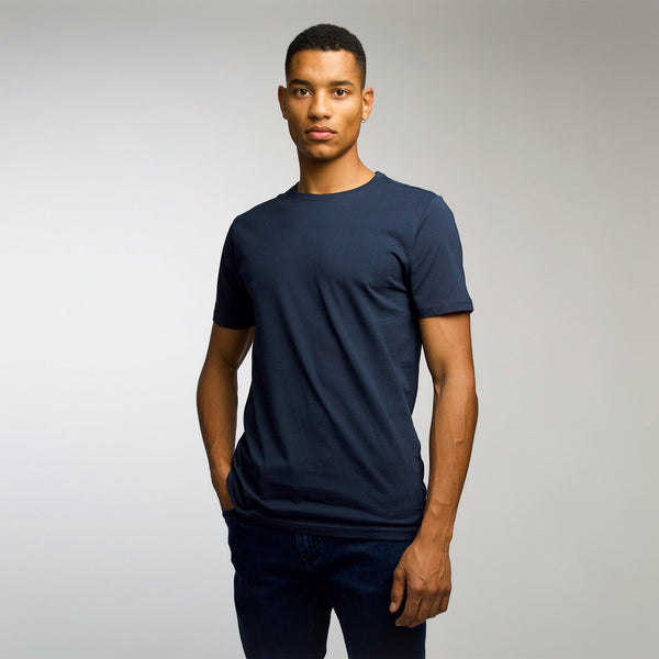 T-shirt men dark navy