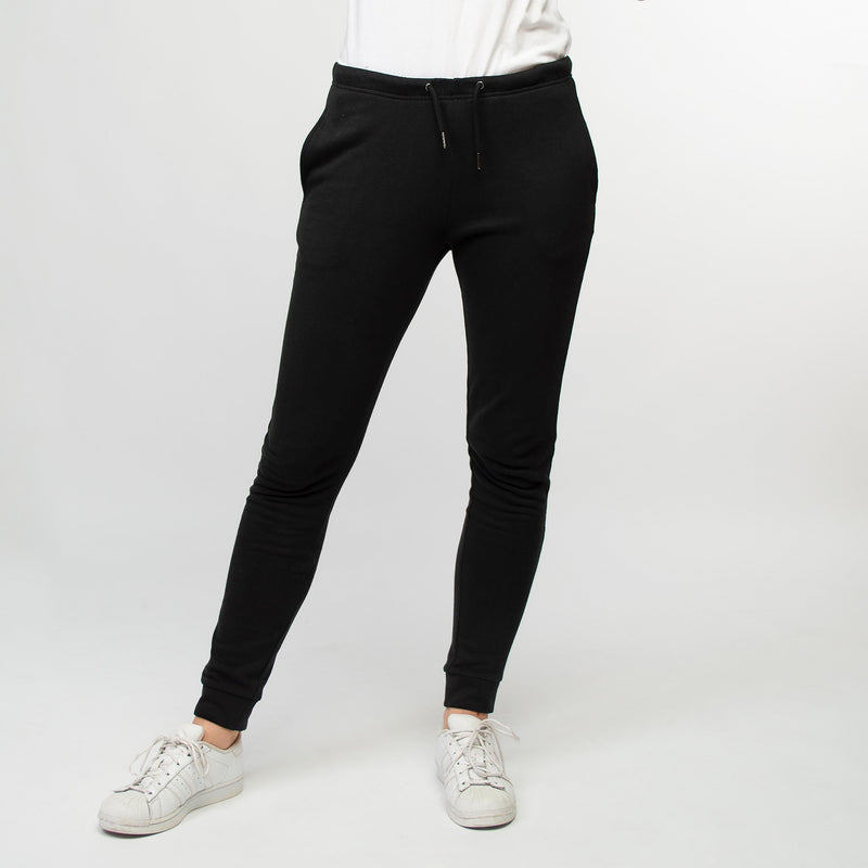 Jogging pants women black