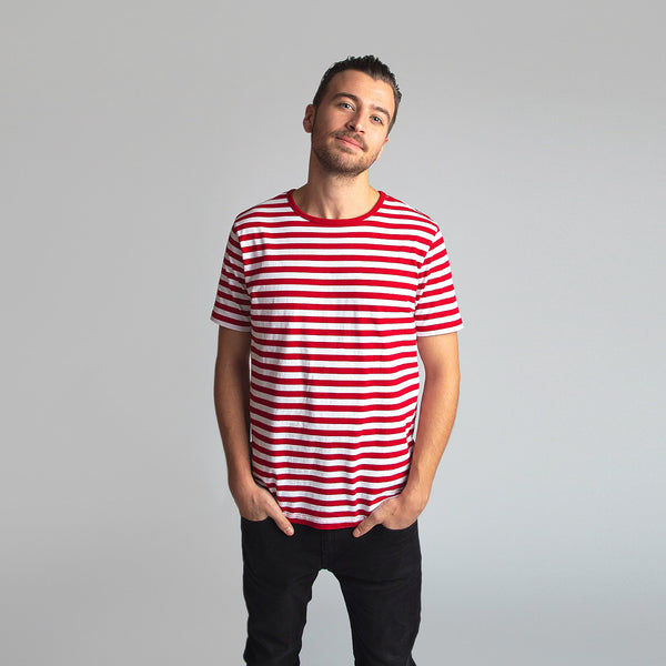 Zottel Striped T-Shirt Men