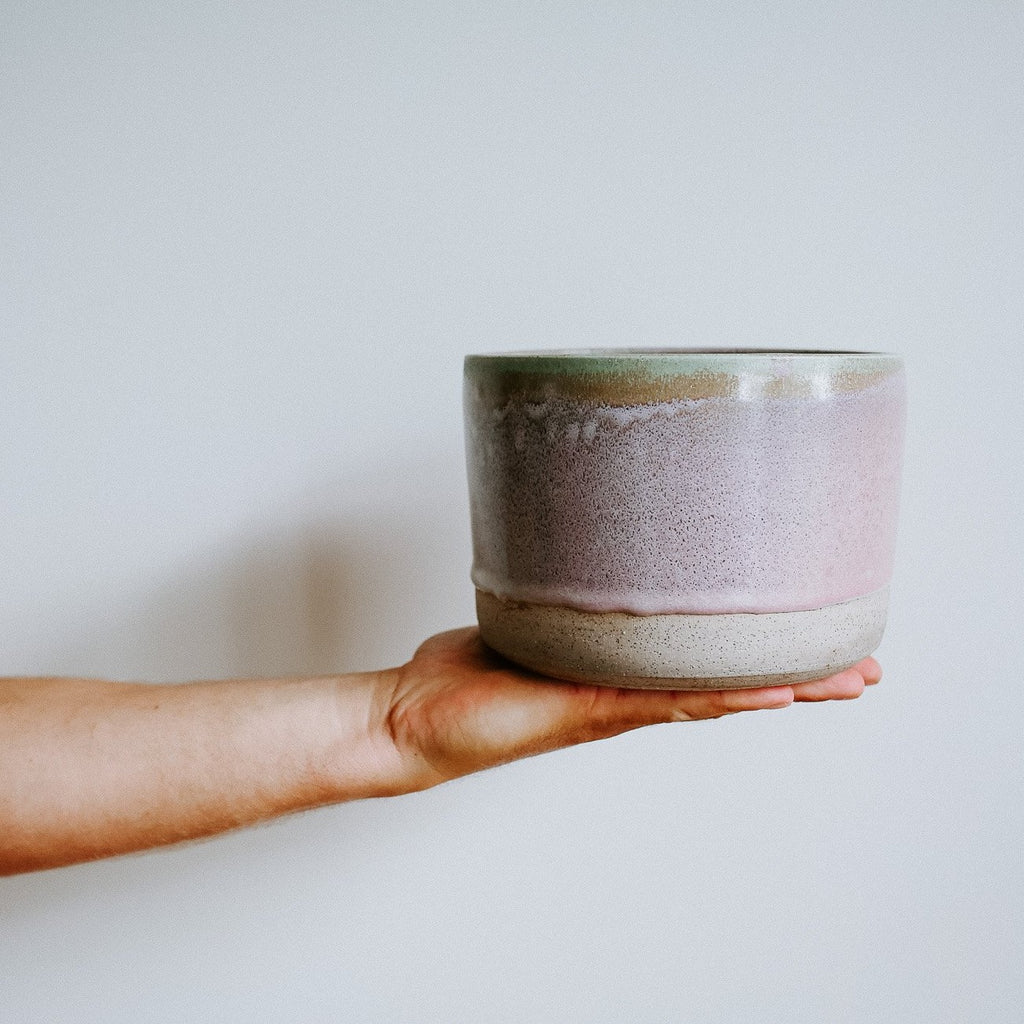 Purple Haze Ceramic Pot