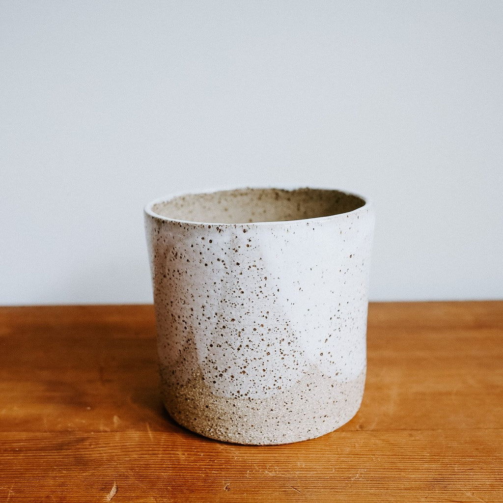 Saturn Ceramic Pot - Matte Tall