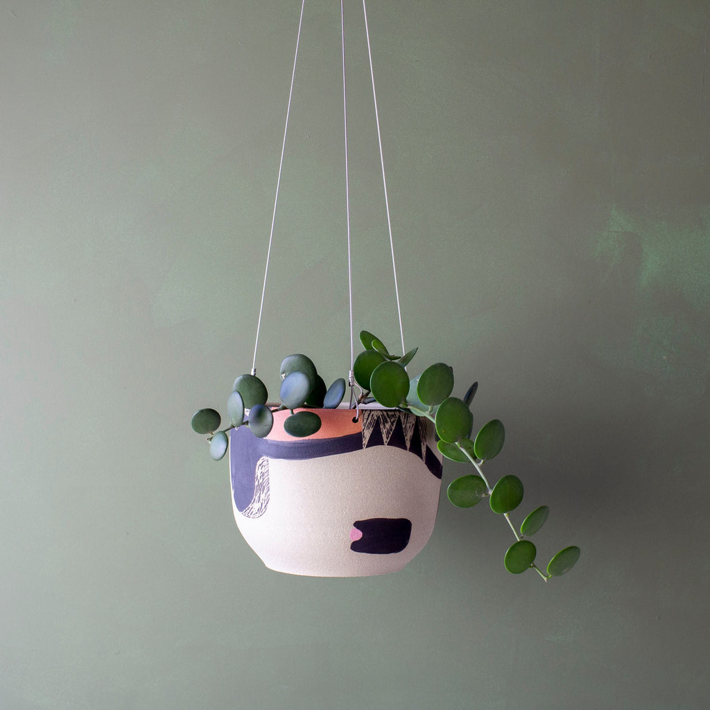 Think Ahead Hanging Planter by TRADE the MARK