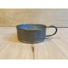 Load Image into Gallery Viewer, Antique PEWTER Short MUG or Measuring Cup w/ Handle ~ #906 QUEEN CITY SILVER Co