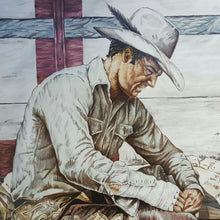 Load Image into Gallery Viewer, Kenneth M FREEMAN ~ COWBOY Art ~ SIGNED LITHOGRAPH Proof ~ Western Americana