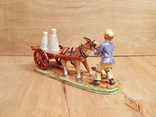 Load Image into Gallery Viewer, Vintage The Stubborn DONKEY FIGURINE ~ MULLER VOLKSTEDT Irish DRESDEN PORCELAIN