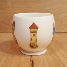 Load Image into Gallery Viewer, Vintage NORITAKE Bone CHINA CACHE POT ~ CHESS Men ~ Father's Day 1974 LTD ED