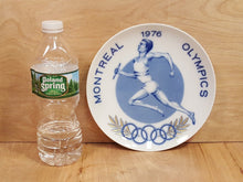 Load Image into Gallery Viewer, Vintage 1976 MONTREAL OLYMPIC GAMES PLATE ~ Ltd Ed First Issue FURSTENBERG China