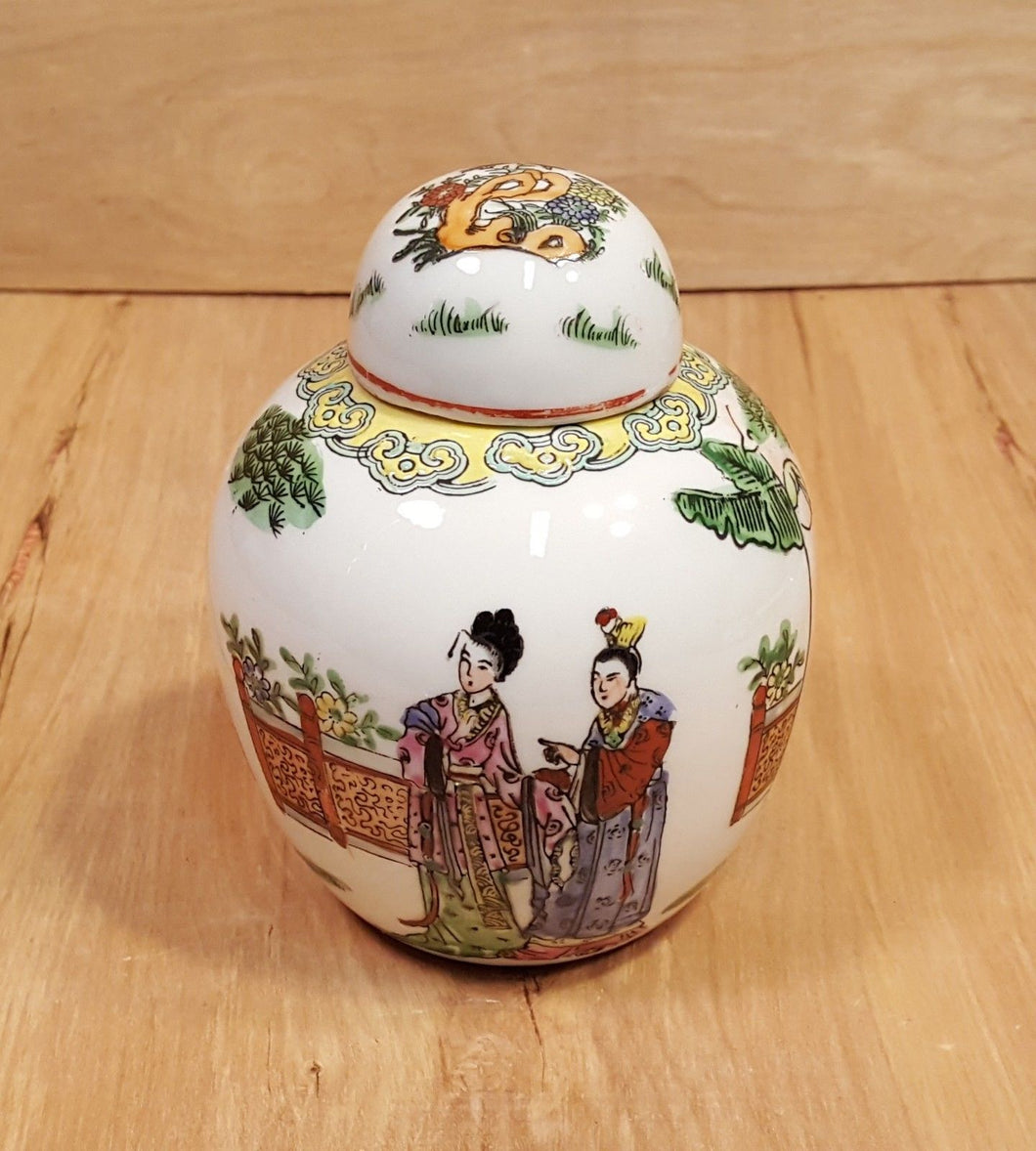 Vintage Objects D'Art Macau CHINESE Ceramic 5