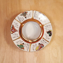 Load Image into Gallery Viewer, Vtg JAPANESE PORCELAIN ASHTRAY Hand Painted Noble Men Women W/ Gold Trim SIGNED