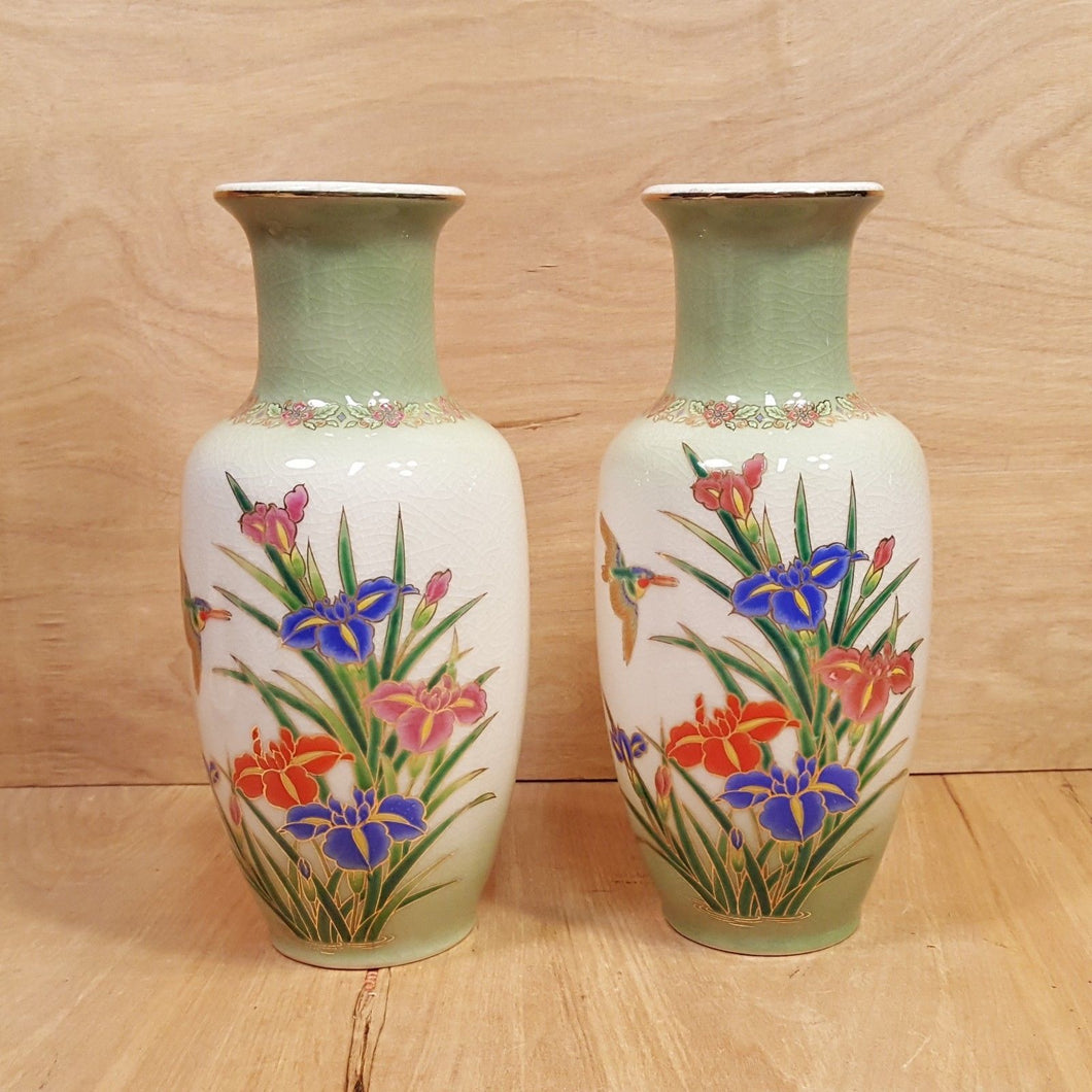 Vintage SET of TWO ~ Japanese Ceramic 9