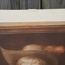 Load Image into Gallery Viewer, SIGNED SAMUEL ARLENT EDWARDS MEZZOTINT Art Print PORTRAIT Boy after Jacob Cuyp