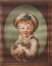Load Image into Gallery Viewer, SIGNED SAMUEL ARLENT EDWARDS MEZZOTINT Art Print PORTRAIT of Boy after Fragonard