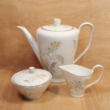 Load Image into Gallery Viewer, Vintage ROSENTHAL COFFEE POT w/ SUGAR BOWL & CREAMER ~ Summer Blossom