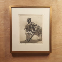 Load Image into Gallery Viewer, SIGNED PATRICIA TOBACCO FORRESTER Etching Art PRINT ~ The MOTHER