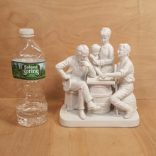 Load Image into Gallery Viewer, Vintage REED & BARTON ~ GROUP FIGURINE CHECKERS ~ White Porcelain Bisque