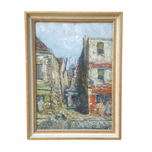 Load Image into Gallery Viewer, Listed Artist RAYMOND BESSE (1899-1969) OIL PAINTING L'Ile St Denis PARIS FRANCE