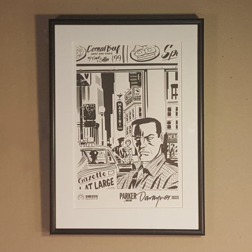 SIGNED DARWYN COOKE SILKSCREEN Print ~ PARKER The Outfit ~ 2010 Ltd Ed