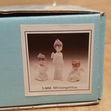 Load Image into Gallery Viewer, LLADRO Christmas Boy ANGEL ORNAMENTS in BOX ~ Retired Porcelain Set of 3