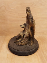Load Image into Gallery Viewer, BILL VERNON Limited Edition WOLVES SCULPTURE Figurine ~ THREE WOLF