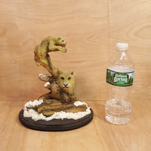 Load Image into Gallery Viewer, BILL VERNON Limited Edition COUGAR SCULPTURE Figurine ~ Dream Catcher