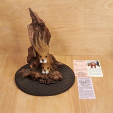 Load Image into Gallery Viewer, BILL VERNON Limited Edition OTTER SCULPTURE Figurine ~ Water Waltz ~ Series of E